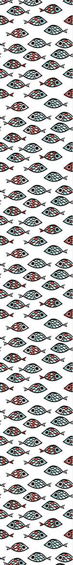 Papier peint design Swarm Of Fish