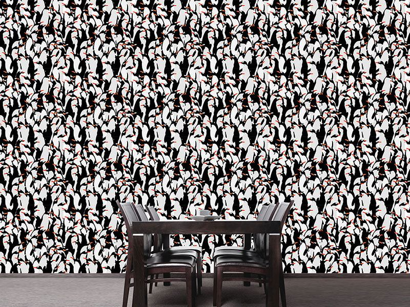 Design Wallpaper The March Of The Penguins