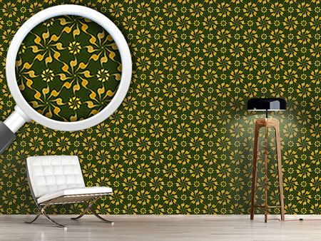 Design Wallpaper Spiral Floral