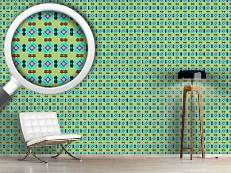 Design Wallpaper Patches All Over