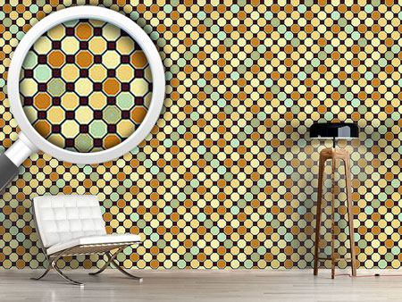 Design Wallpaper Hexagon Deco