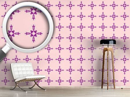 Design Wallpaper Organic Cross