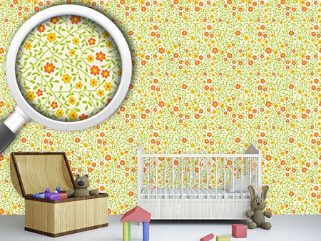 Design Wallpaper Wild Roses In The Sun
