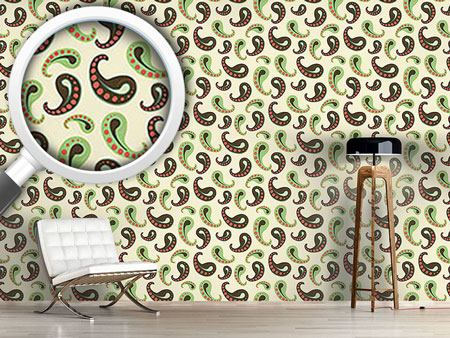Design Wallpaper Softice Paisley