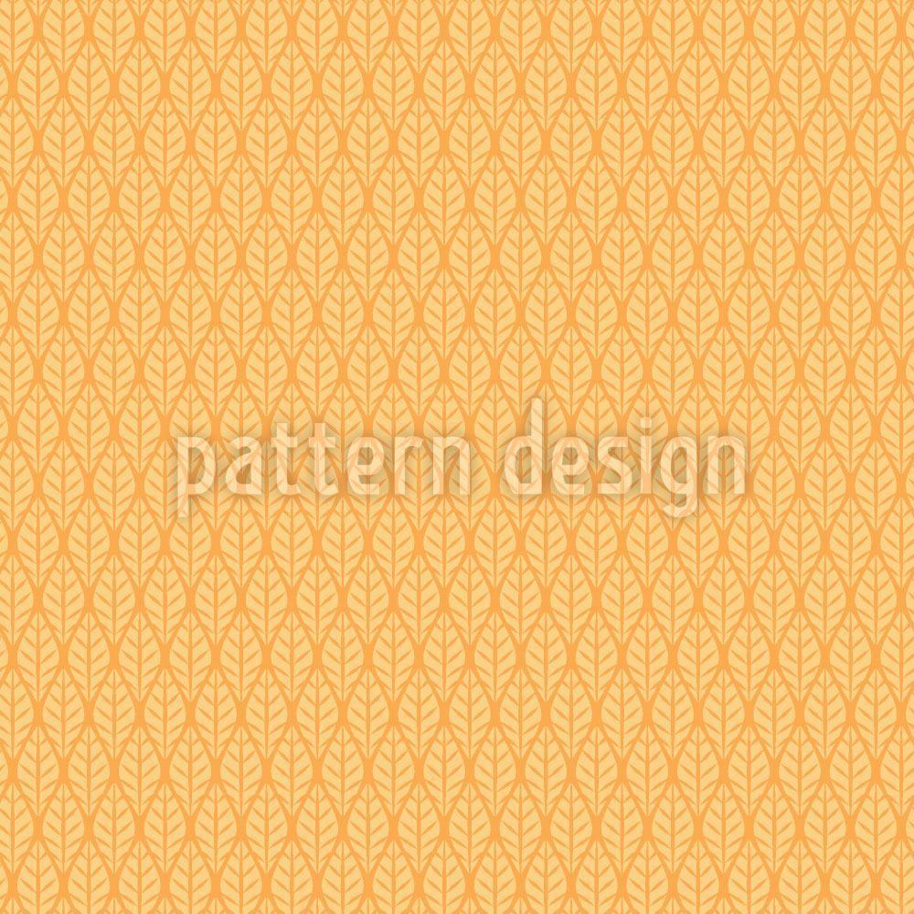 Designtapete Sonnenblatt Karos - Jetzt online bestellen!