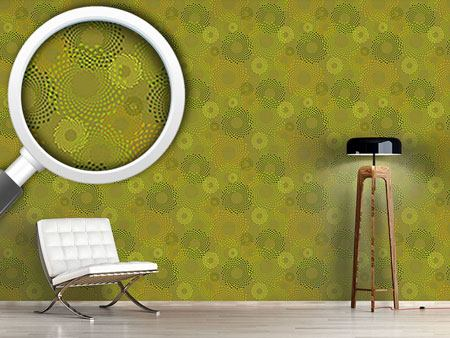 Design Wallpaper Straw Circles