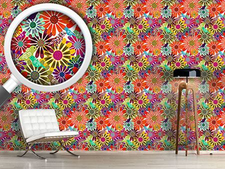 Design Wallpaper Brazil Floral