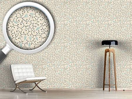 Design Wallpaper Floral Softness