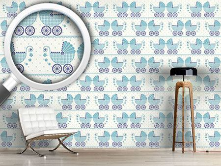 Design Wallpaper Baby Timmys Buggy