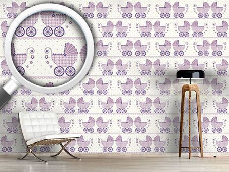 Design Wallpaper Baby Lauras Buggy