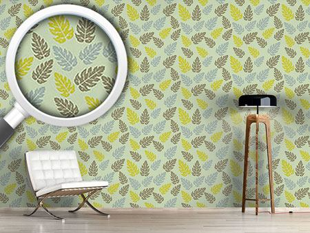 Design Wallpaper Nordic Leaf