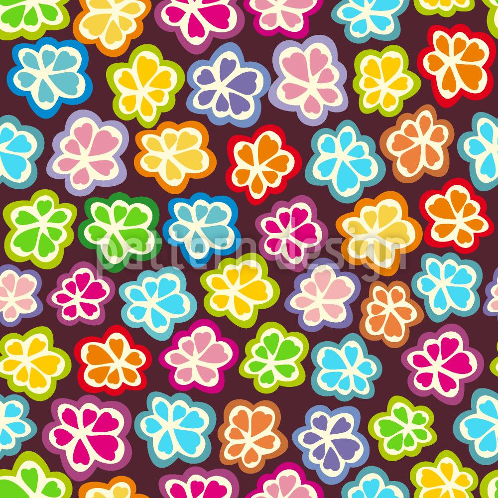 Design Wallpaper Sugar Sweet Flowers