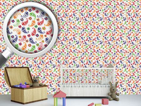 Design Wallpaper Summer Of Paisleys