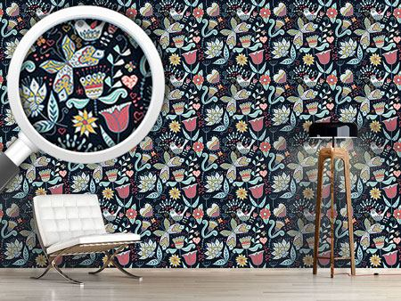 Design Wallpaper When Katja Dreams At Night
