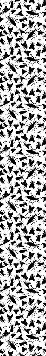 Papel tapiz de diseño The Insect Collection Of Edgar Allan