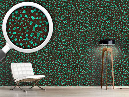Design Wallpaper Chocolate Mint Splash