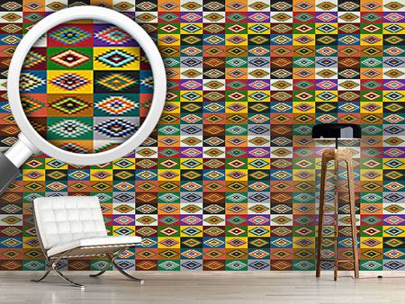 Design Wallpaper Apache Patchwork