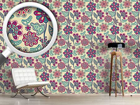 Design Wallpaper Flower Magic Bratislava