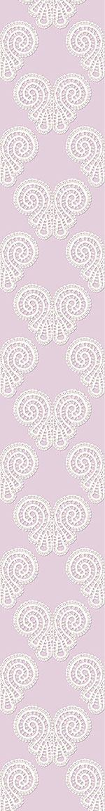 Papier peint design Soft Lace Butterflies