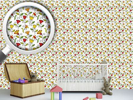 Design Wallpaper Summer Flower Joy