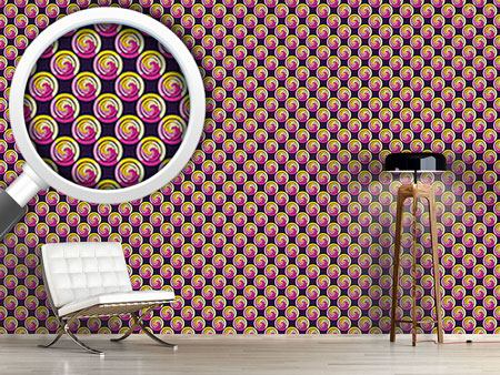 Design Wallpaper Marshmallow Circles