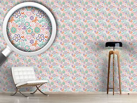 Design Wallpaper Butterflies Awake
