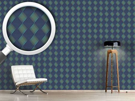 Design Wallpaper Basket Blues