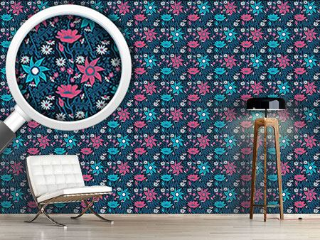 Design Wallpaper Flowers In The Nightshade
