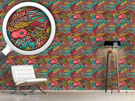 Design Wallpaper Magic Dragon Fantasies