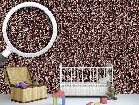 Design Wallpaper Chocolate Balls