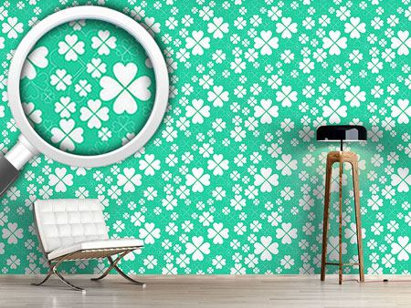 Design Wallpaper Lucky Clover