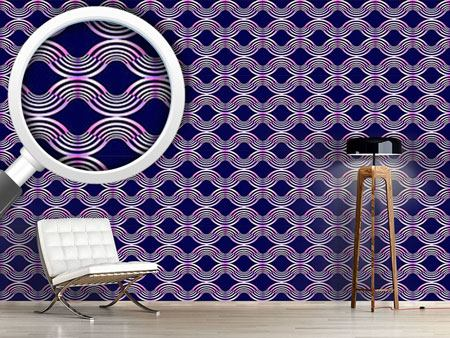 Design Wallpaper Metal Waves
