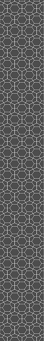 Designtapete Hexagon Netz