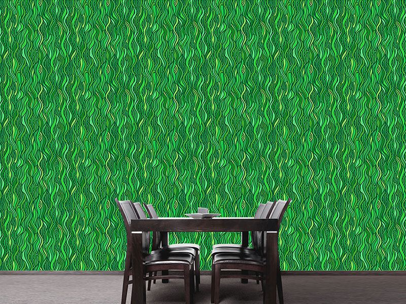 Design Wallpaper Seaweed