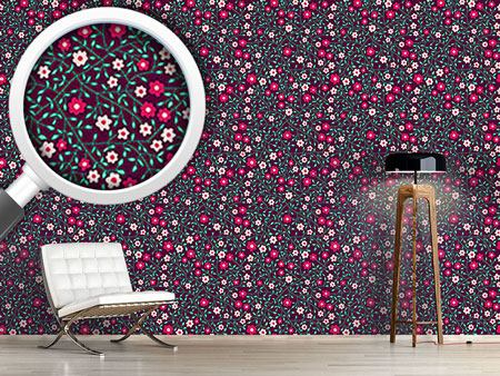 Design Wallpaper Fine Little Flowers