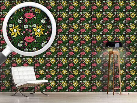 Design Wallpaper Alpine Magic Garden
