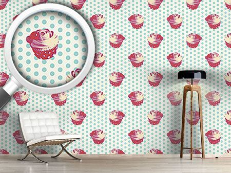 Design Wallpaper Cupcake Baby