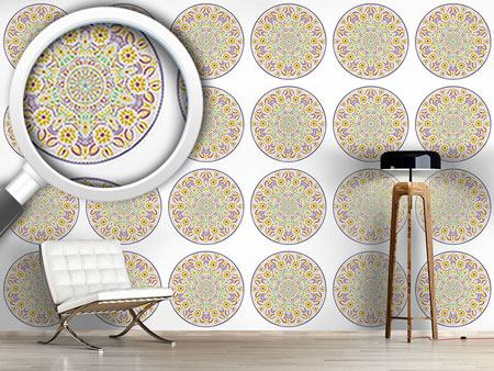 Design Wallpaper Floral Mandala