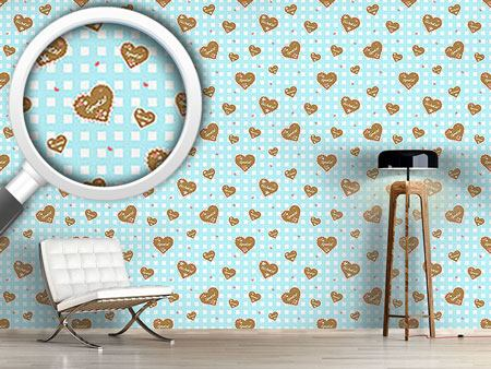 Design Wallpaper Oktoberfest Hearts