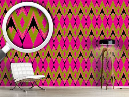 Design Wallpaper Pink Pop Deco