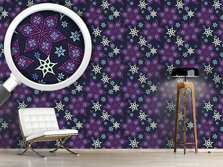 Design Wallpaper Russian Starflowers