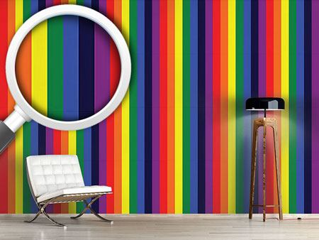 Design Wallpaper Healing Rainbow