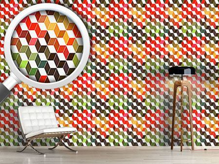 Design Wallpaper Zigzag Objects