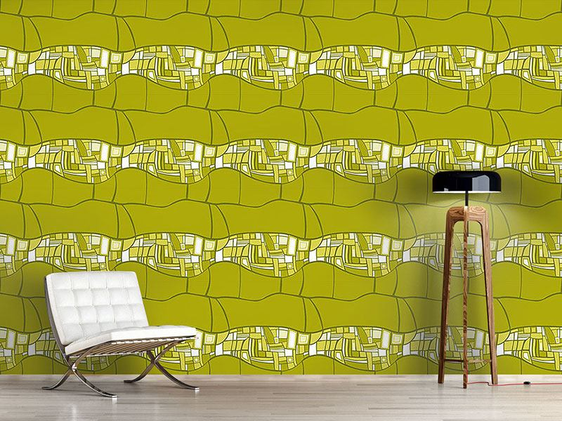 Design Wallpaper Stilismo Green