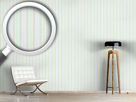 Design Wallpaper Romantic Stripes