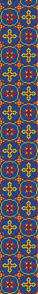 Carta da parati Pixel Crosses