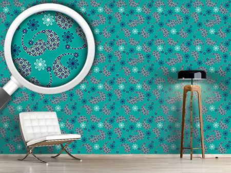 Design Wallpaper Paisley Friendship