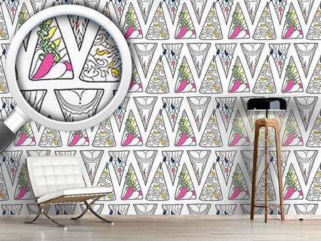 Design Wallpaper Triangle Expression