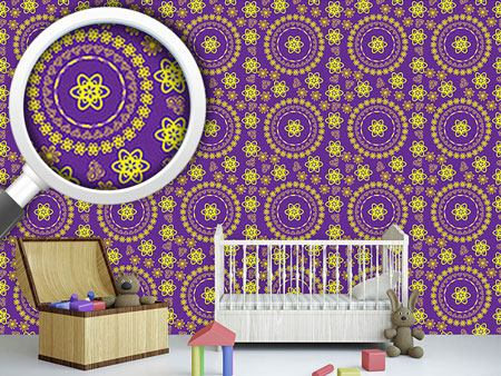 Design Wallpaper Delightful Mandala