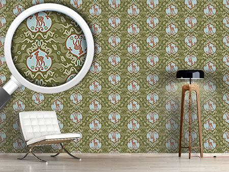 Design Wallpaper As The Birds Sang For The Fawn